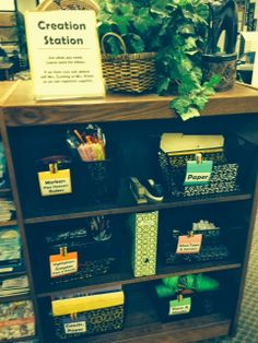 """Library """"Creation Station"""" for makerspace"""