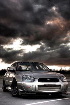 Subaru WRX STI. Amazing picture