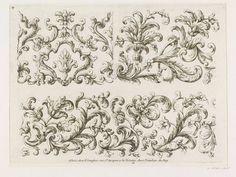 """""""Nouveau Livre d'Ornemens pour les Brodeurs"""" / par Paul Androuet du Cerceau (v.1630-1710) / A Paris chez N. Langlois, 1670-1685 – Londres, Victoria & Albert Museum"""