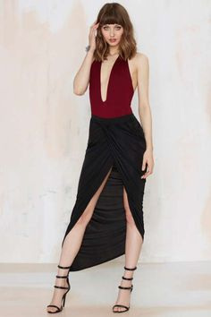 Lioness Over and Over Wrap Skirt