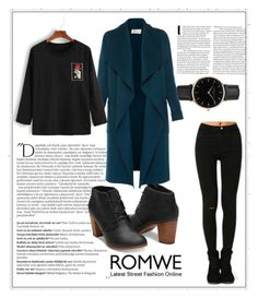 """Romwe"" by selma-selmica-314 ❤ liked on Polyvore featuring Balmain, Topshop and L.K.Bennett"