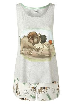Clothing at Tesco | Disney Jungle Book Shorts Pyjamas > nightwear > Nightwear & Slippers > Women