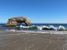 mayalu, via Flickr  Natural Bridge  CA Santa Cruz state park