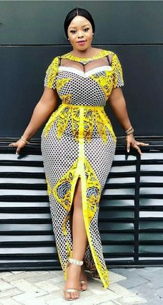 Elegant African Women Dresses suitable for Evening Dresses. Women Dresses Dress Women's Fashion Click The Link Above To See All Our Womens Fashions! African American Fashion, Latest African Fashion Dresses, African Dresses For Women, African Print Dresses, African Print Fashion, Africa Fashion, African Wear, African Style, African Attire For Ladies