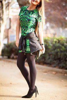 vestido estampado #kissmylook