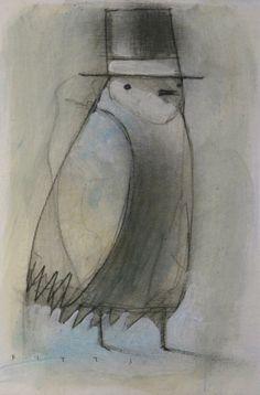 Dapper Bird No.5 by SethFitts.deviantart.com on @DeviantArt