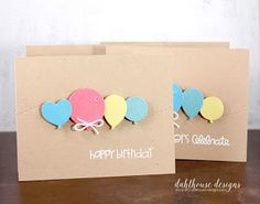 Card by SPARKS DT Lisa Arana PS stamp sets: Birthday Sampler, Sentiment Sampler; PS dies: Balloons, Stitched dies
