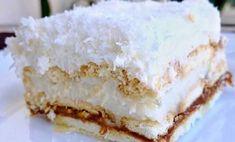 Raffaello Cake, Romanian Desserts, Russian Recipes, Vanilla Cake, Food Videos, Food Inspiration, Sweet Recipes, Baking Recipes, Cheesecake