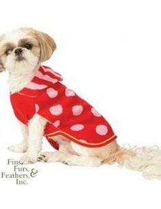 Fashion Pet (Ethical) Spot Hoodie Sweater Red Small   #pets #dog #fashion petstore.com