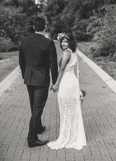 Photography: Sarah Tonkin Photography - sarahtonkin.com.au  Read More: http://www.stylemepretty.com/australia-weddings/2014/10/09/romantic-bohemian-inspiration-shoot-at-mount-brown/