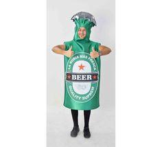 DisfracesMimo, disfraz de botella de cerveza adulto talla unica. Compra tu disfraz barato adulto para tu grupo. Este traje es ideal para tus fiestas temáticas de oktoberfest  y de la cerveza