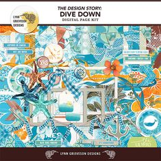 Dive Down Kit by Lynn Grieveson.  Available at the Lily Pad.