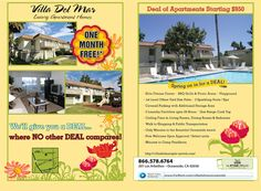 forrent magazine 2 page ads villa del mar luxury apartments luxury apartmentsmarketing ideasmarchvillasmarine