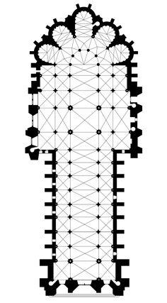 PlancathedraleReims - Cathédrale Notre-Dame de Reims — Wikipédia