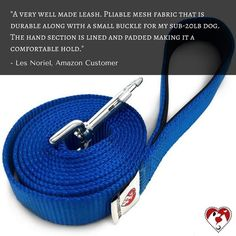What does our friend Les has to say about our blue 1-layer leash? Click the link in our bio to get yours. #leash #dogleashes #dogs #dogstagram #dogsofinstagram #puppiesofinstagram #puppystagrams #puppycraze #puppies #petsloversclub #instadog #instadogs #love #dogphotography#petsloversclub #petstagram #dailydog #dogoftheday