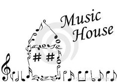 This would be my home.. we always have music playing. ♫