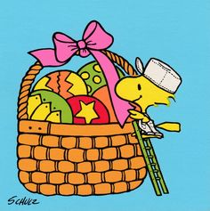 Woodstock Easter card