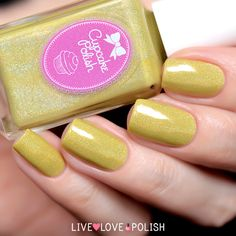 Cupcake Polish Daisy In Love Nail Polish