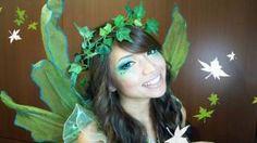 Forest Fairy Halloween Makeup Tutorial, via YouTube.