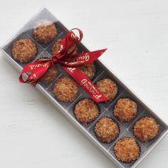 Presente de Brig. Gourmet Coco Queimado (12 unid) - Encomenda Gourmet