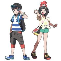 Pokémon Soleil et Lune : Trailers, légendaires, personnages, région et plus ! --- News du Jeudi 02 Juin 2016 | Pokébip