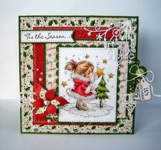 Nixe07 - Moni´s creative place: Lili of the Valley ... New Papers, new Sentiments, new Stamp :o)
