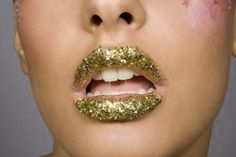 It's better to use edible glitter on your mouth than the type made with metals and plastics. - Frederic Tousche, Getty Images