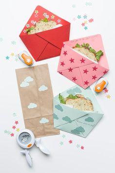 Back to School Origami Sandwich Pocket