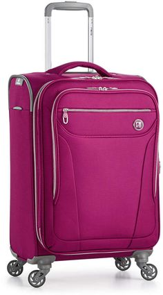 Revo City Lights Carry On Expandable Spinner Suitcase, Created for Macy's - Gray Luggage Backpack, Carry On Luggage, Luggage Sets, Luggage Suitcase, Travel Luggage, Cute Luggage, Macy Gray, Top Luxury Cars, Spinner Suitcase