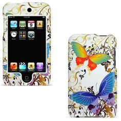 Universal iPod Touch Butterfly Hard Protective Case #Touch 2/ 3 Butterfly Design Hard Case
