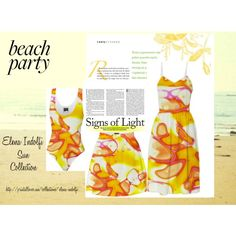 """Beach Party"" by elena-indolfi on Polyvore"