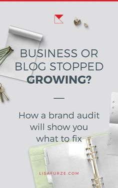 To maintain a strong, consistent and impactful brand, you need to conduct a brand audit (or have someone do it for you). You'll learn invaluable info about the strengths and weaknesses of your brand and how to improve your business.