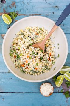 Grilled Mexican Corn Salad - Freutcake