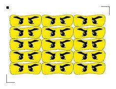 Free Printable Lego Ninjago eyes for bags