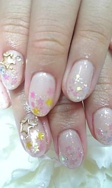 Nails Nail Art Design Japanese Manicure Stars