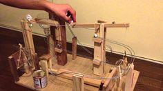 ピタゴラスイッチ はやとの自由研究2013 Marble Machine, Wood Architecture, Track Lighting, Ceiling Lights, Toys, Crafts, Home Decor, Youtube, Activity Toys