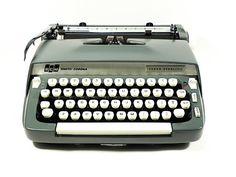 Vintage Smith Corona Typewriter by jetsetvintage on Etsy
