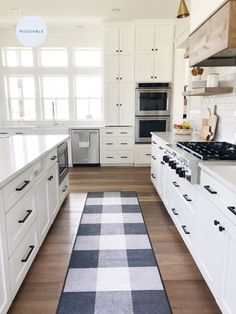 Bring a rustic charm to your decor with our Buffalo Plaid Black & White Rug. Simple yet stylish, this rug features a checkered, Buffalo plaid design in high-contrast hues of black and white, complementing an array of colors, themes, and decorative elements effortlessly. Rug colors may vary slightly according to your device and the lighting in your space.