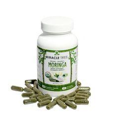 Organic Moringa Supplements (120-Ct) - Miracle Tree - 1