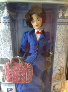 MARY POPPINS COLLECTIBLE DOLL The Art of Bob Crowley Disney vintage new in box   eBay