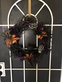 Grapevine Wreath, Grape Vines, Halloween Decorations, Creepy, Wreaths, Home Decor, Decoration Home, Door Wreaths, Room Decor