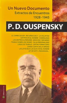 UN NUOVO DOCUMENTO by Piotr D. Ouspensky   http://www.ilgiardinodeilibri.it/libri/__nuovo_documento.php?pn=130