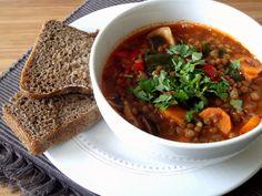 Estufado de lentilhas / Lentil stew