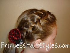 Loose french braid - how to