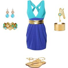 Summer Day, created by c-torres on Polyvore