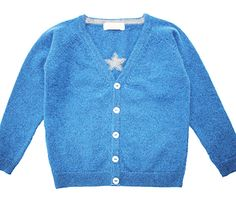 Olivier Baby & Kids Cashmere Cardigan with Small Star £64.00 (or about $100.00)