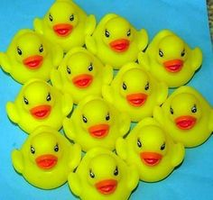 12 New Floating Yellow Rubber Ducks by Made In China. $9.99