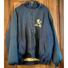 Notre Dame hooded winter starter type FANS Gear jacket marked US size L