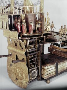 The Mechanical Galleon is an elaborate nef or table ornament in the form of a ship, which is also an automaton and clock. It was constructed in about 1585 by Hans Schlottheim in southern Germany.