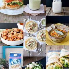 Weekly Vegan Meal Plan 2 with Shopping List- Veggies Don't Bite Vegetarian Weekly Meal Plan, Vegan Meal Plans, Vegan Meal Prep, Vegetarian Recipes Dinner, Vegan Vegetarian, Vegan Recipes, Dinner Recipes, Fat Burning Foods, Plant Based Recipes